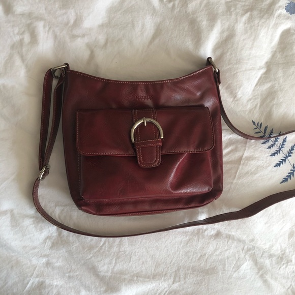 Diverso Italy faux leather crossbody